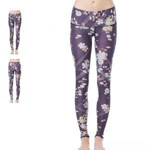 Teeki Wildflower Hot Yoga Pant Leggings